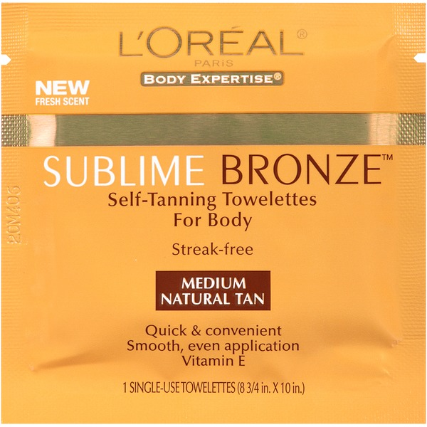 Sublime Bronze Body Self-Tanning Towelettes