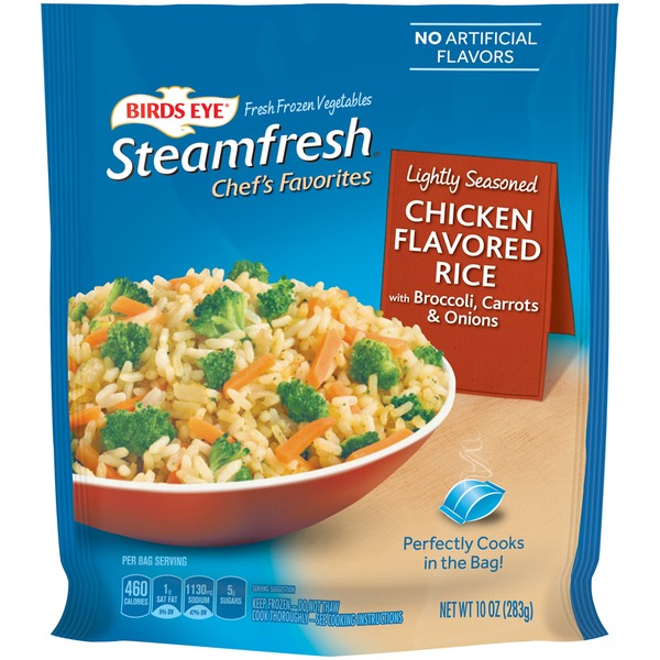 Steamfresh Chef's Favorites with Broccoli, Carrots & Onions Chicken Flavored Rice