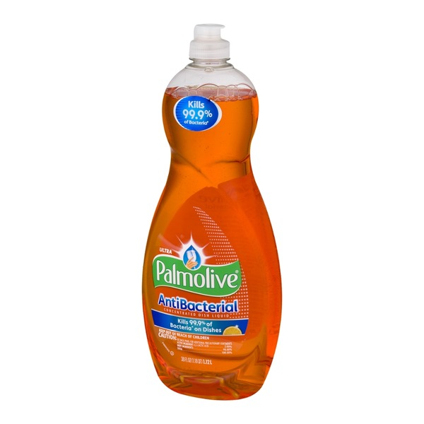 Palmolive Ultra Antibacterial Concentrated Dish Liquid Orange