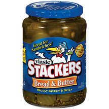 Vlasic Stackers Bread & Butter Pickles