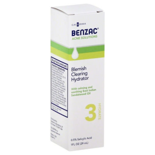 Benzac Blemish Clearing Hydrator