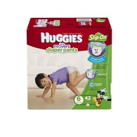 Huggies Supreme Little Movers Slip-On Size 6 Diapers