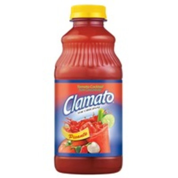 Clamato The Original Picante Tomato Cocktail Regular Juice Drink
