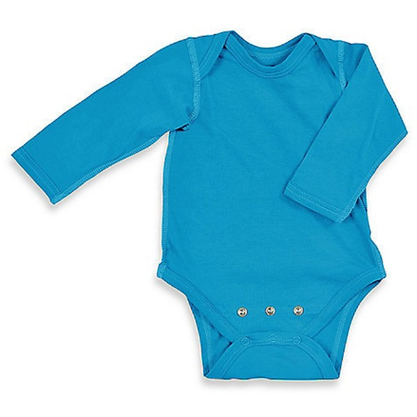 Iplay Brights Organic Adjustable Aqua Bodysuit