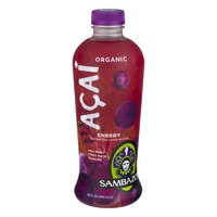 Sambazon Organic Acai Energy Superfood Juice Blend Acai Berry + Yerba Mate + Guarana
