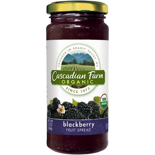 Cascadian Farm Organic Blackberry Fruit Spread