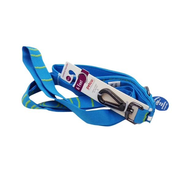 Petco Sport Dog Leash In Blue & Green 6 Foot