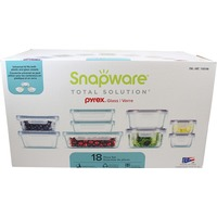 Snapware 18 Piece Glass Food Storage Set