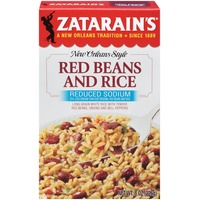 Zatarain's Red Beans & Rice Reduced Sodium Rice Mix