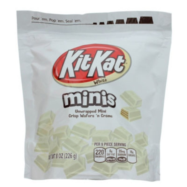 Kit Kat Minis White Chocolate Wafers Candy
