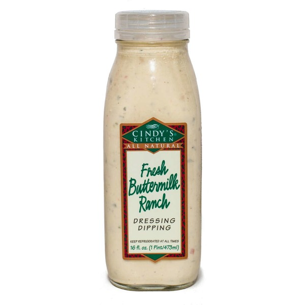 Cindy's Kitchen All Natural Fresh Buttermilk Ranch Dressing Marinade