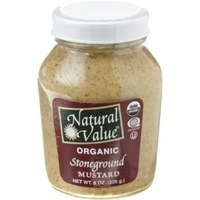 Natural Value Stoneground Mustard