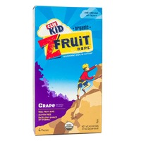 Clif Kid® Organic Grape Twisted Fruit Rope CLIF Kid ZFruit Organic Grape Twisted Fruit Rope