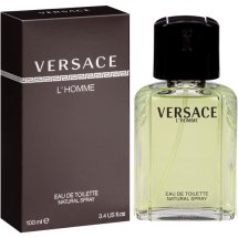 Versace L'Homme Eau de Toilette Natural Spray, 3.4 fl oz