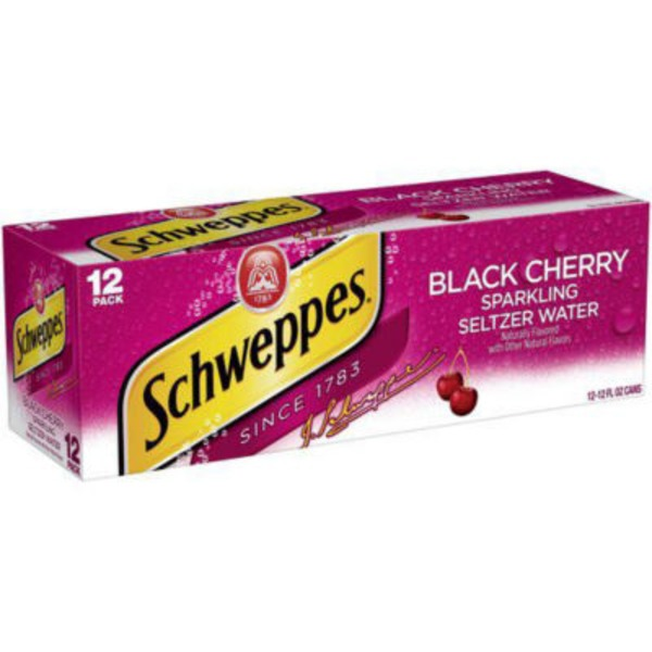 Schweppes Black Cherry Sparkling Water