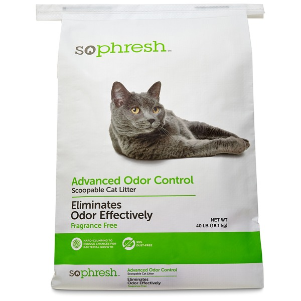 So Phresh Advanced Odor Control Scoopable Cat Litter 40 Lbs.