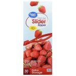 Great Value Slider Zipper Food Storage Bags, Gallon, 30 Count