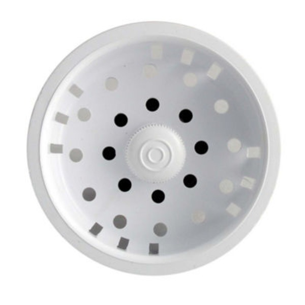 Ldr White Plastic Sink Basket