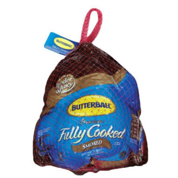 Butterball Fully Cooked Smoked Whole Young Turkey