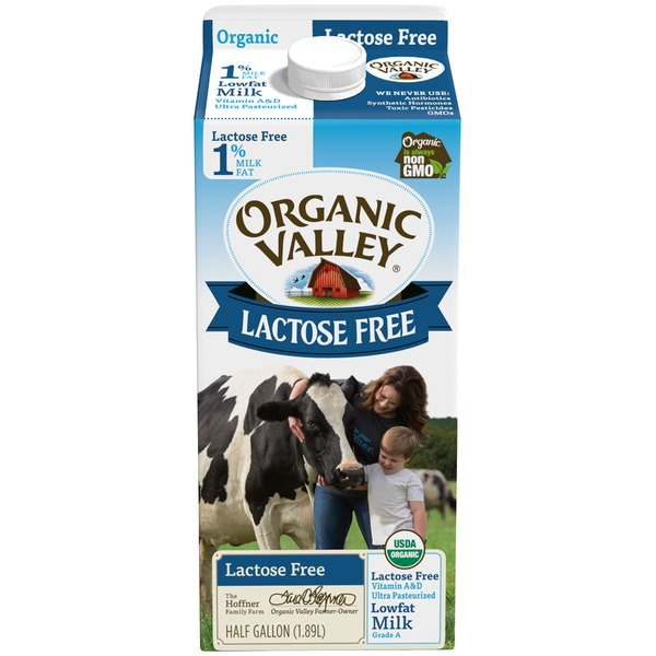 Organic Valley Lactose Free Lowfat Milk