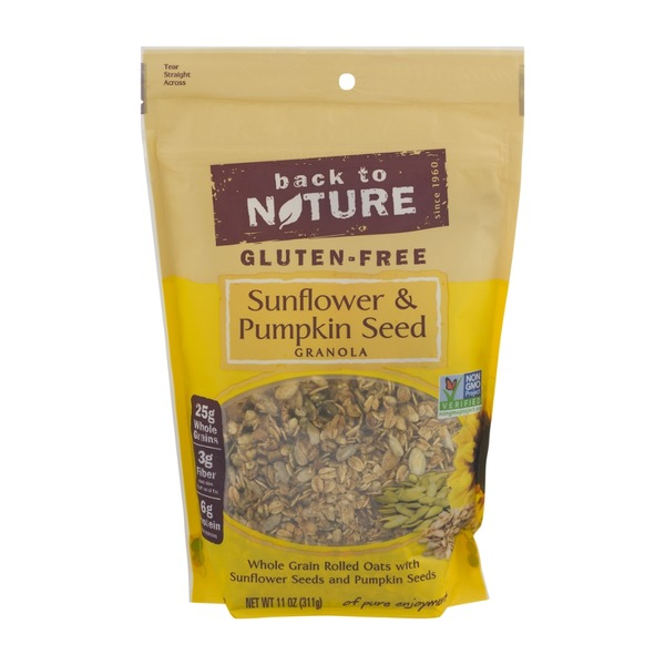 Back to Nature Gluten-Free Granola Sunflower & Pumpkin Seed