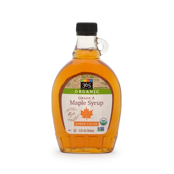 365 Organic Grade A Medium Maple Syrup
