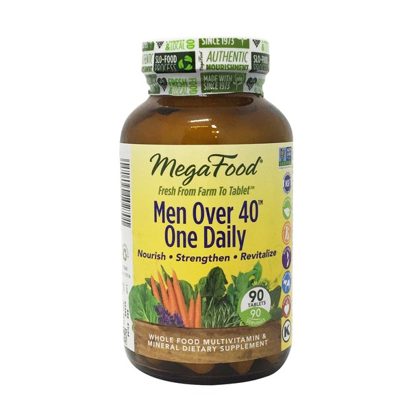 MegaFood Dailyfoods Men Over 40 One Daily Iron Free