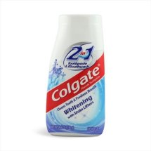 Colgate 2-in-1 Whitening Toothpaste Gel and Mouthwash - 4.6 oz
