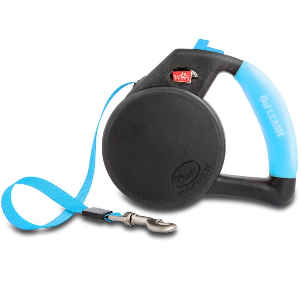Wigzi Gel Retractable Blue  Leash