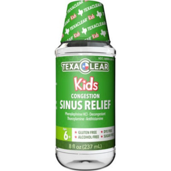 Texa Clear Kids Congestion Sinus Relief