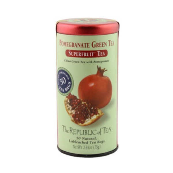 The Republic of Tea Superfruit Tea, Pomegranate Green Tea