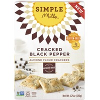 Simple Mills Black Pepper & Almond Flour Crackers
