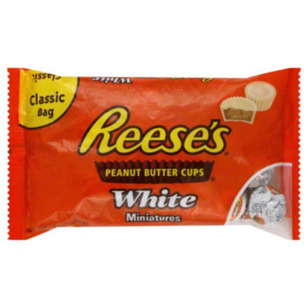 Reese's White Peanut Butter Cups Miniatures Candy