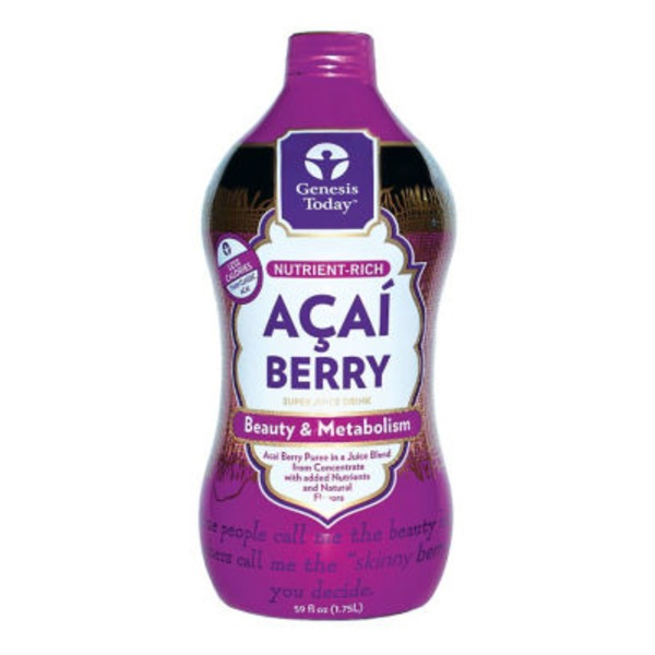 Genesis Today Acai Berry Juice