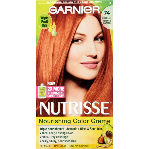 Nutrisse® 74 Lightest Intense Copper Nourishing Color Creme