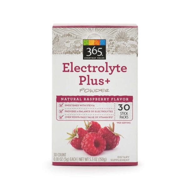 Whole Foods Market Raspberry Electrolyte Powder Sticks