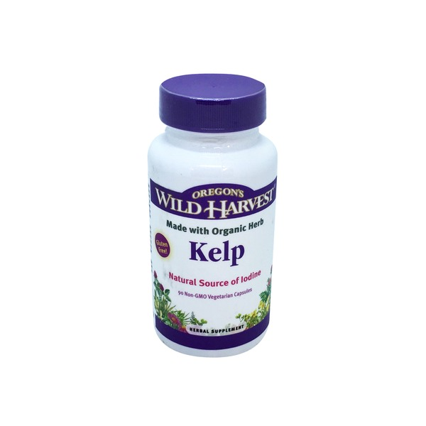 Oregon's Wild Harvest Kelp Herbal Supplement Capsules