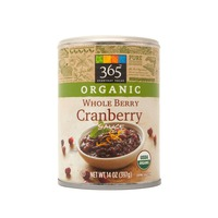 365 Organics Organic Whole Berry Cranberry Sauce