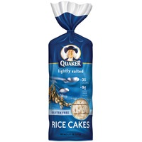 Quaker Rice Cakes Lightly Salted Rice Cakes
