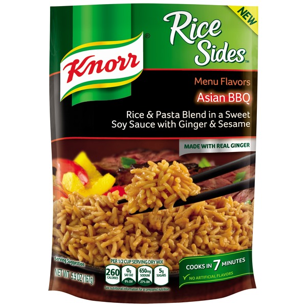 Knorr Asian Bbq Rice Side Meal
