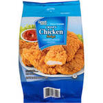 Great Value Crispy Chicken Breast Tenderloin Fritters Chicken Strips
