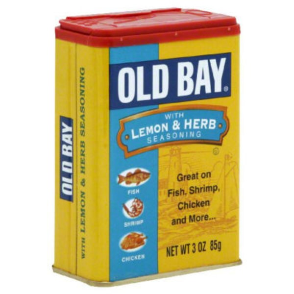 Old Bay With Lemon & Herb Seasoning