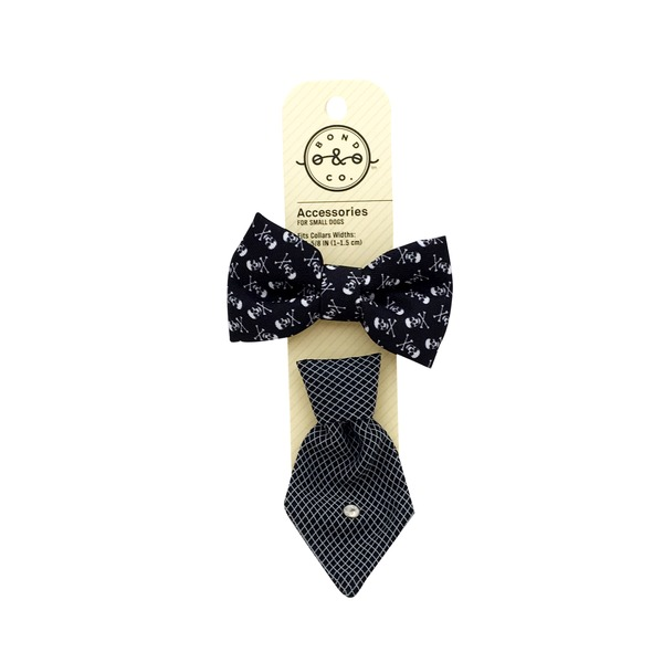 Bond & Co. Bowtie Tie 2-Pc. Set Black