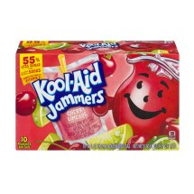 Kool-Aid Jammers Fruit Juice Pouches, Cherry Limeade, 6 Fl Oz, 10 Count