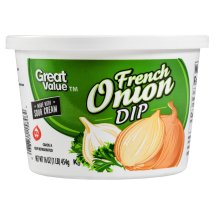 Great Value French Onion Dip, 16 oz