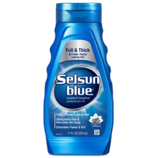 Selsun Blue Drandruff Shampoo Formulated with Caffeine