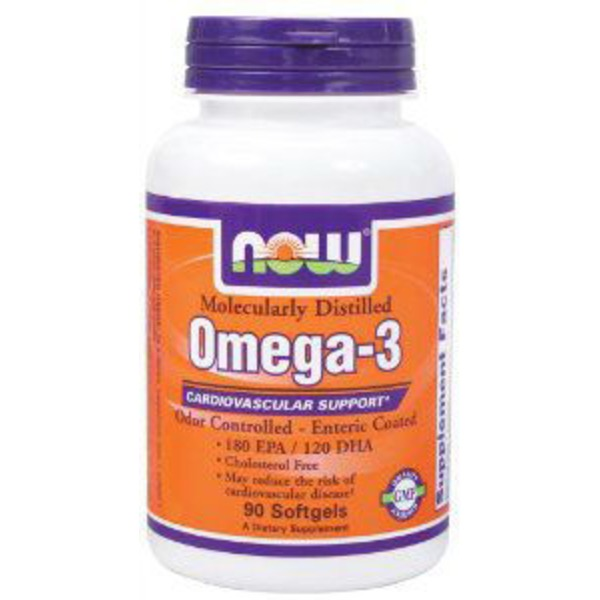 Now Molecularly Distilled Omega 3
