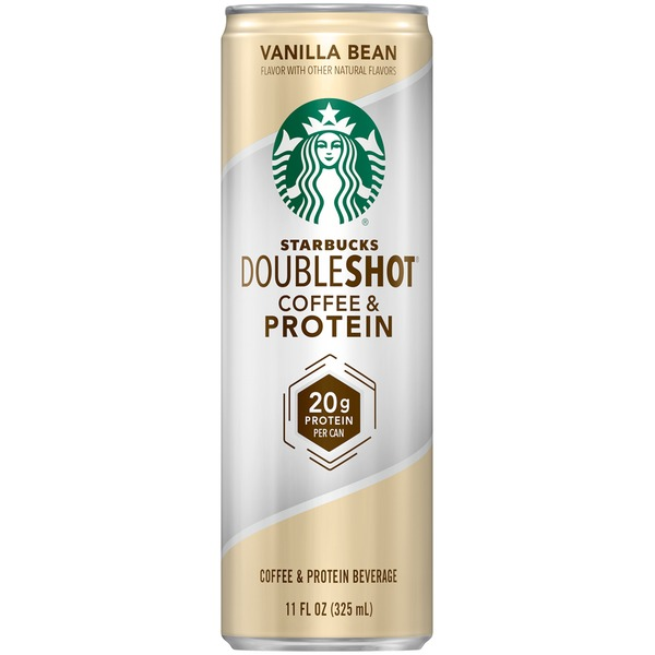 Starbucks Doubleshot Coffee & Protein Vanilla Bean Coffee Drink