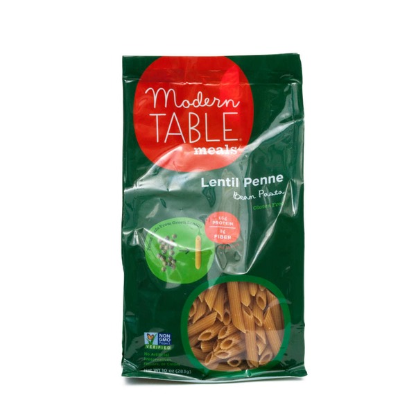 Modern Table Meals Lentil Penne Bean Pasta