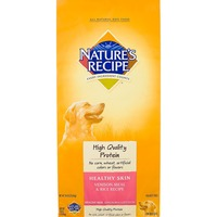 Nature's Recipe Healthy Skin Venison Meal & Rice Recipe Dog Food